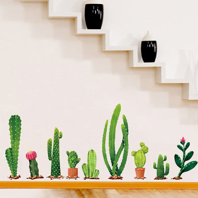 Cactus Wall Stickers