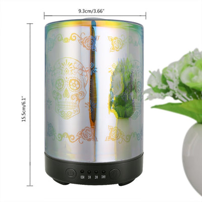 Noiseless Skull Flower Humidifier