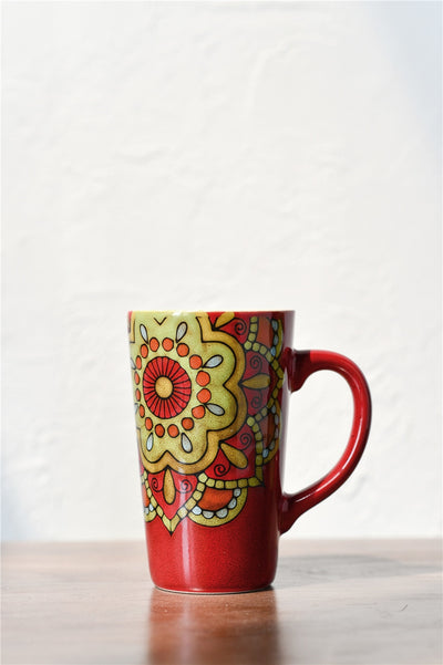 Hand-painted Mandala Mugs