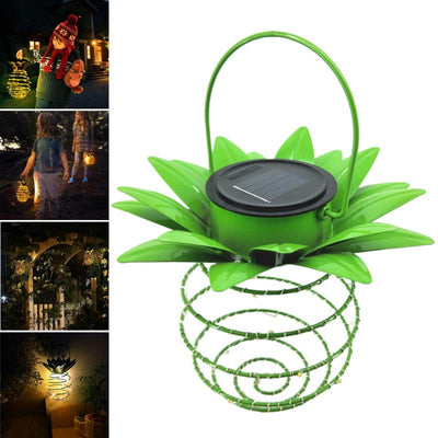 Pineapple LED Hanging Garden Light