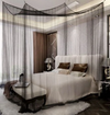 Gothic Fabric Canopy Mosquito Net