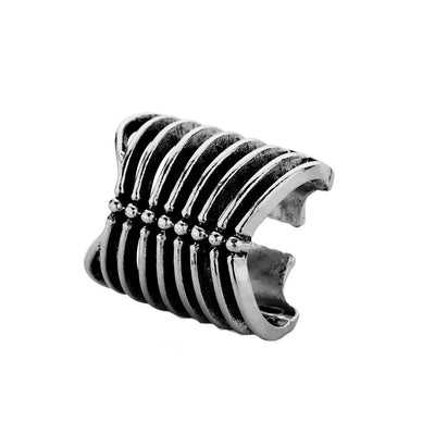 Skeleton Bones Gothic Rib Cage Ring