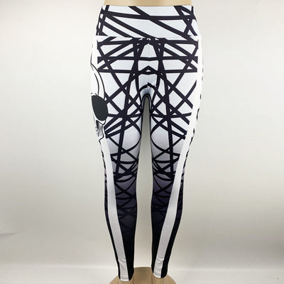Skulls and Stripes Leggings