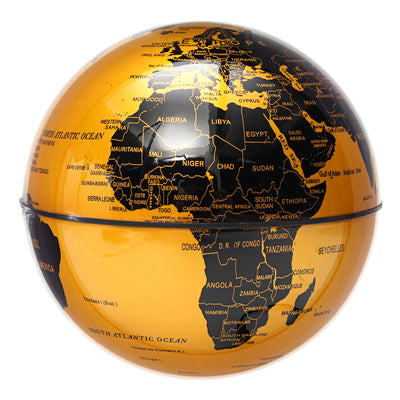 LED Magnetic World Map Floating Globe
