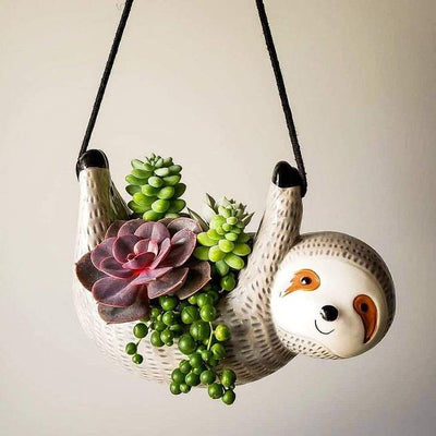 Hanging Sloth Planter