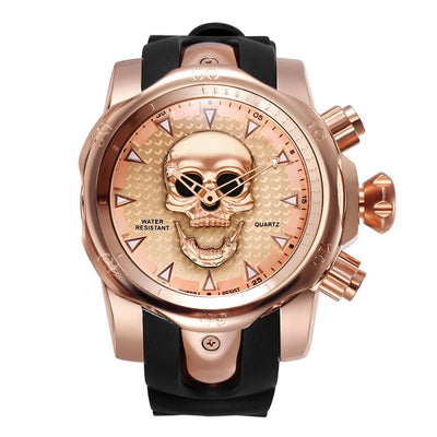 Skull Rotatable Watch