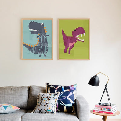 Canvas Print Dinosaur Posters