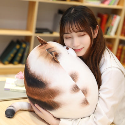 Egg Shaped Plumpy Cat Plush Toys
