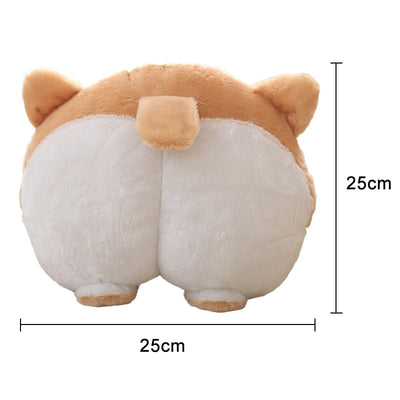 Corgi Booty Head Pillow