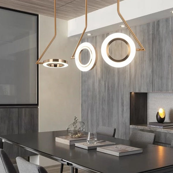 Delightful Upgrades 25 Creative Bedside Lighting Ideas: Modern Loft Hanging Light