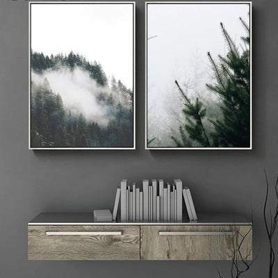 Sweeping Vapor™ Art Canvas