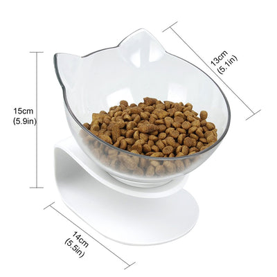 Non-slip Double Cat Feeding Bowl