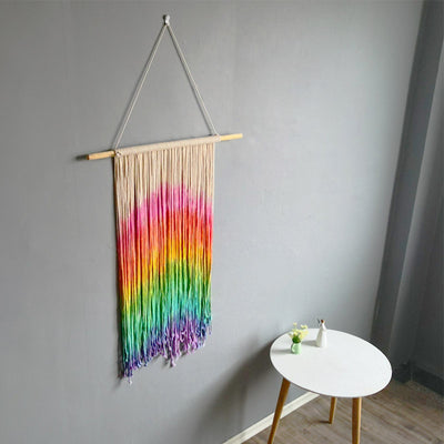 Over The Rainbow Wall Hanging Macrame