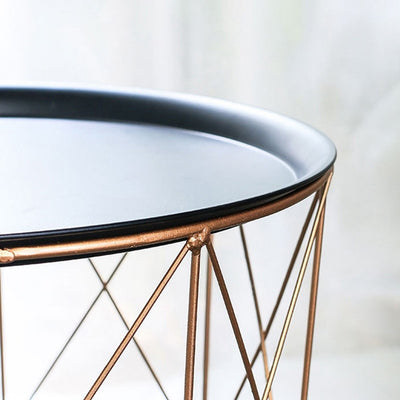Grayson - Modern Geometric Frame Corner Table