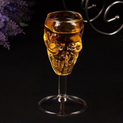 Handmade Skull Wine Glass