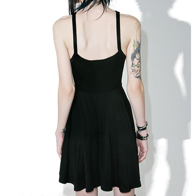 Sexy Pentagram Vintage Gothic Dress