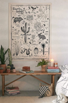 Desert Species Tapestry