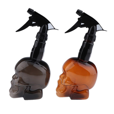 300ML Empty Skull Refillable Spray Bottle