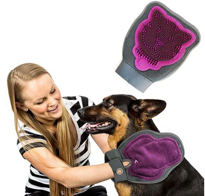Pet Cleaning Double-sided Gloves