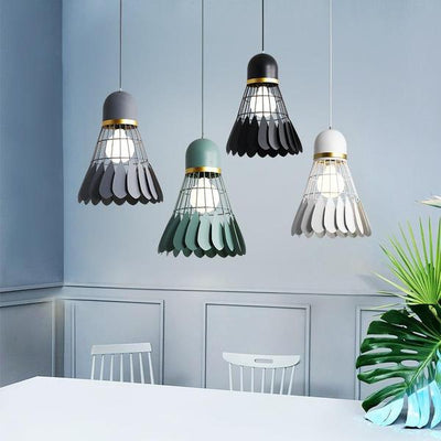 Minton Modern Nordic Art Deco Hanging Light