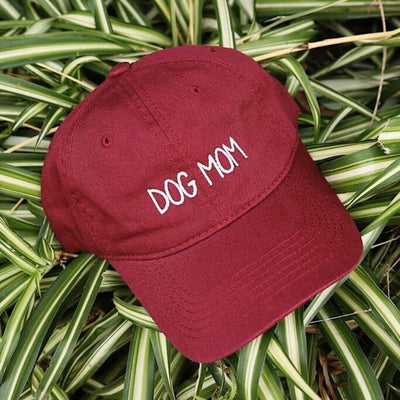 Dog Mom Embroidered Cap