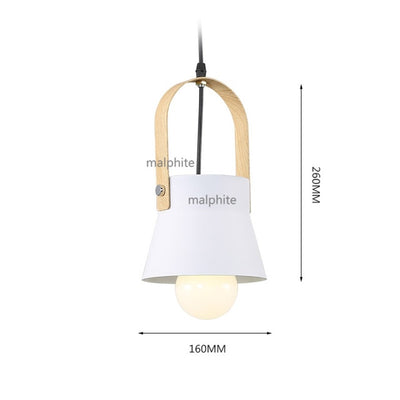 Nordic LED Iron Pendant Lights