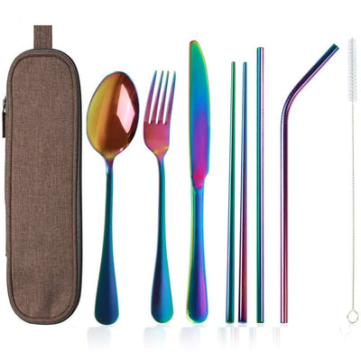 Portable Dinnerware Set Travel