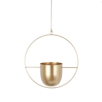 Celeste - Modern Hanging Iron Flower Pot