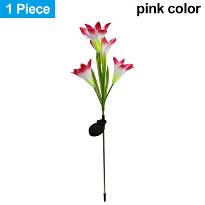 Artificial Lilies LED Garden Lights