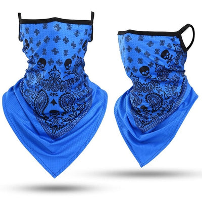 3D Skull Ghost Neck Face Cover Scarf