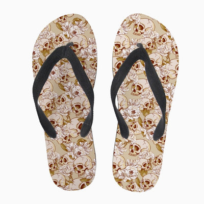 Skull Pattern Women's Slip On Casual Sandals 6 Patterns
