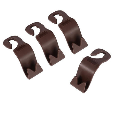 4 Pcs Car Back Seat Hooks