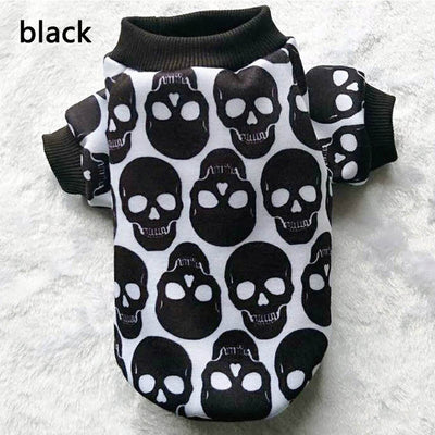 Sports Skull Puppy Dog Shirt