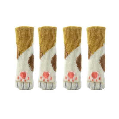Kitty Paw Chair Socks