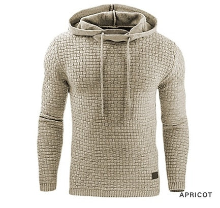 Solid Color Textured Pullover