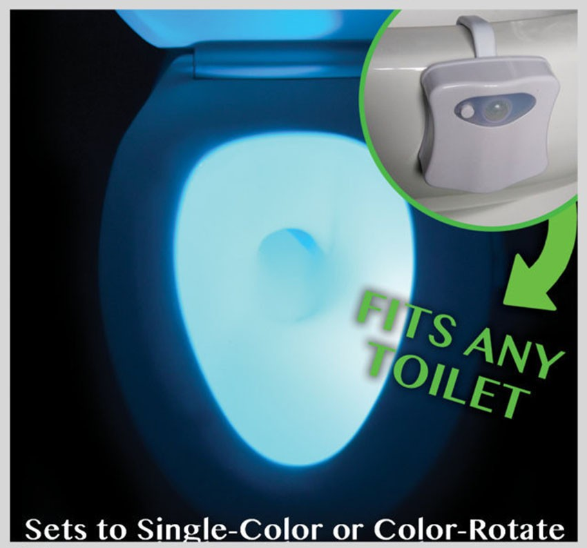Peachy Body Sensing Automatic Led Motion Sensor Night Lamp Toilet Bowl Bathroom Light Cjindustries Chair Design For Home Cjindustriesco