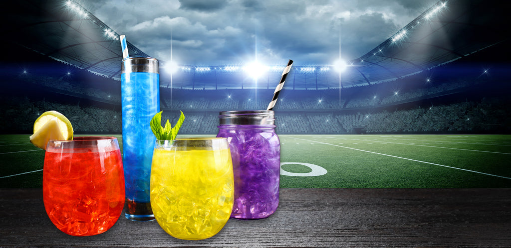 Football Cocktail Colors