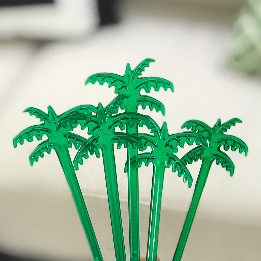 Palm Tree swizzle sticks