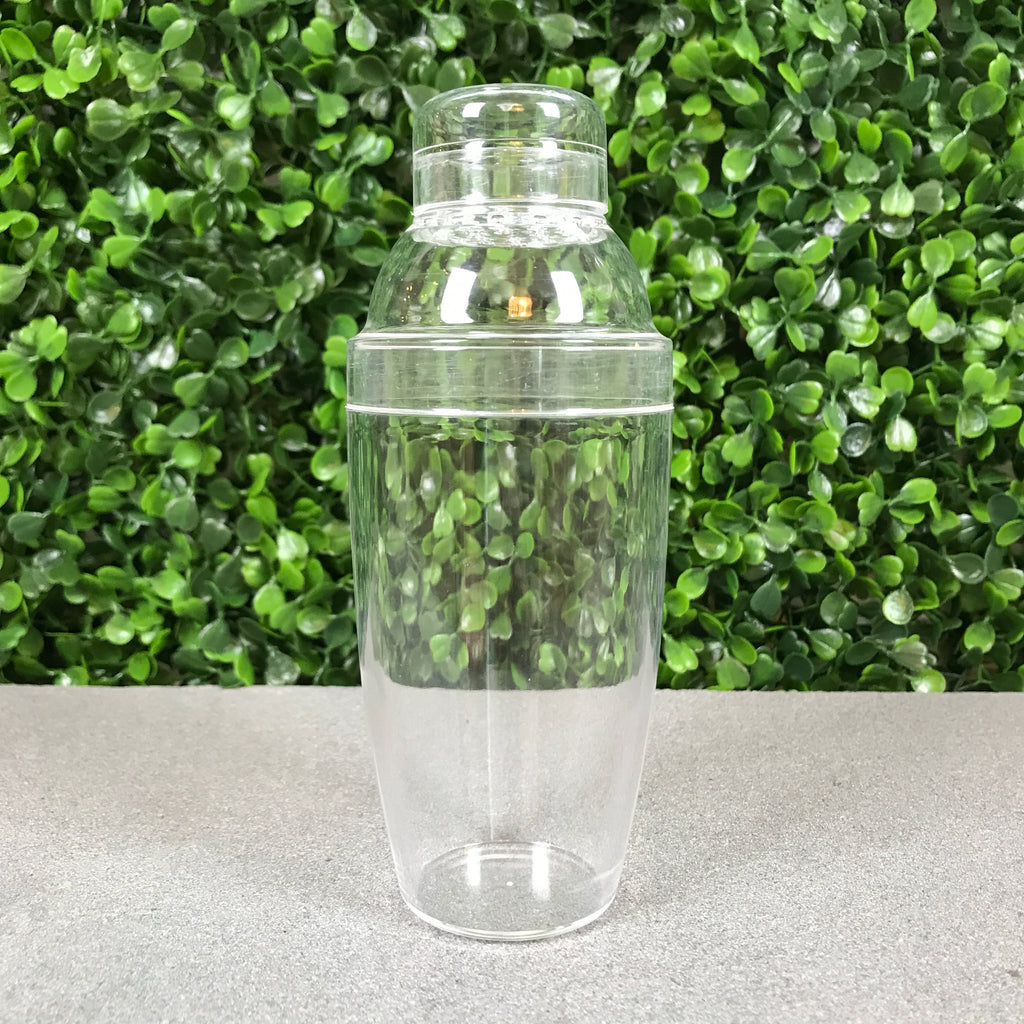6oz Clear Drink Shaker