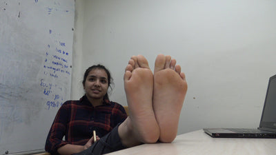 Bangladesh Girl Stinky Feet After Gym Workout Part 1