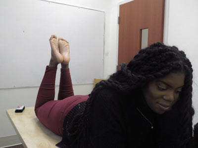 Jakaya Big Long Size 10.5 Candid Ebony Feet Soles Part 2 Video Duration 8:50 minutes 4K Quality