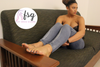 Toya's Mixed-American Candid College Feet Toes & Soles Photoset (100 Pics)