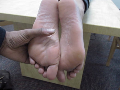 Jordan's Jamaican-American Candid College American Feet Toes & Soles 4K Duration 5 Minutes Part 2
