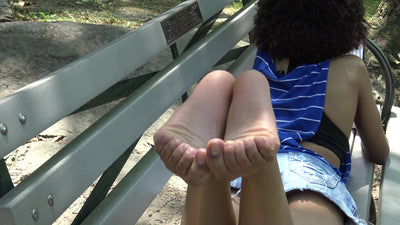 Ambia Candid Mixed American Feet Soles Part 1