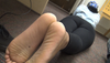 ebony feet soles long toes and soles big stinky beautiful dry feet foot folding curling toes curled toes toe nail foot fetish barefoot young college ebony pretty feet cum candid