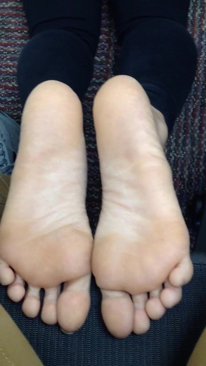 Mixed College Woman Feet Part 1