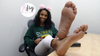 Danielle Long Size 9 Candid College Feet Soles Photoset (62 pics)