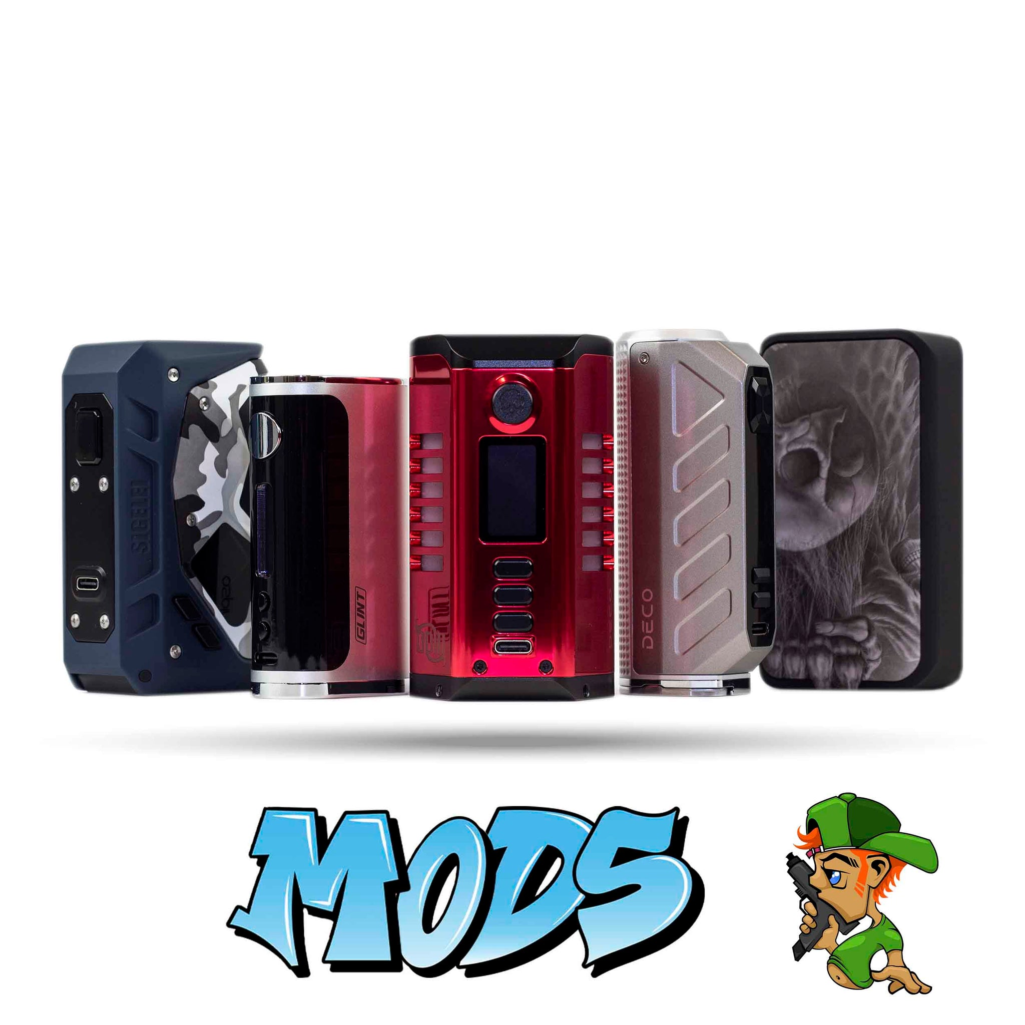 Vape Mods | Smokey Joes Vapes Co