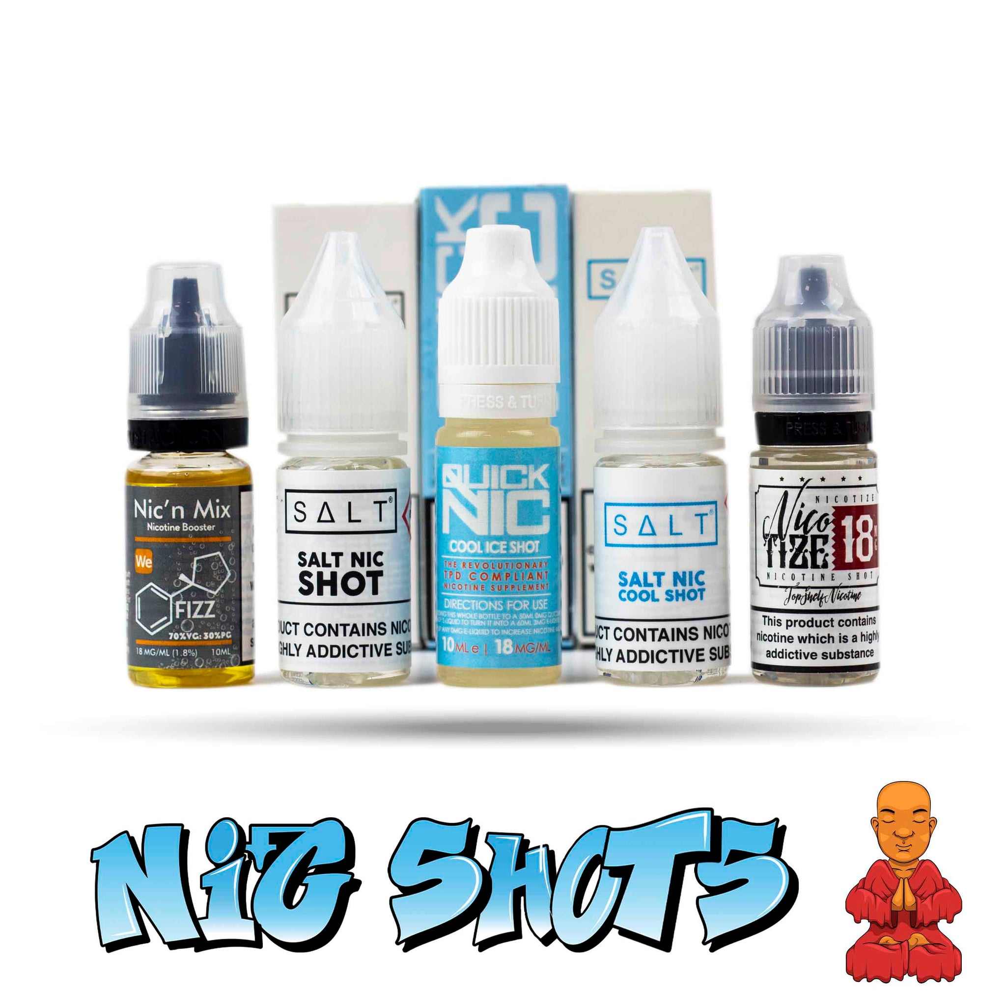 Nic Shots | Smokey Joes Vapes Co