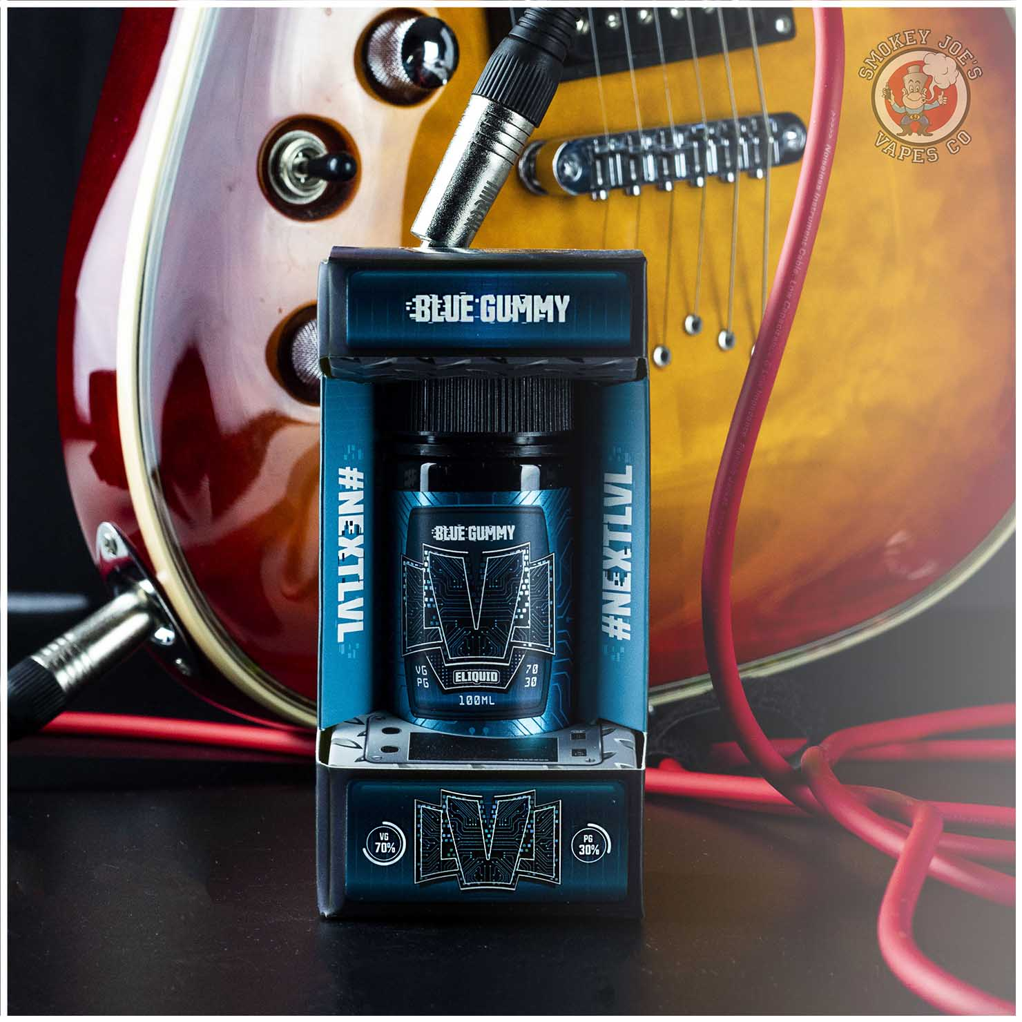 LVL Blue Gummy 100ml | Smokey Joes Vapes Co